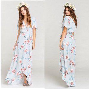 Show Me Your Mumu Sofia Floral Wrap Maxi Dress